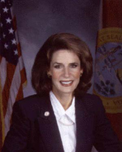 Secretary of State Katherine Harris (1999)