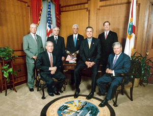 Governor John Ellis Bush and cabinet : Tallahassee, Florida (2002)