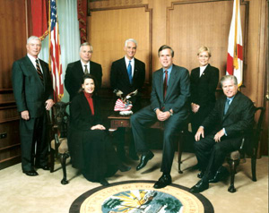 Governor John Ellis Bush and cabinet : Tallahassee, Florida (2001)