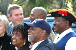 Fort Mose groundbreaking with Lorenzo Laws (2006)
