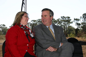 Governor Bush with DEP secretary Colleen Castille (2006)