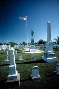 "Battleship ""Maine"" monument and gravestones: Key West, Florida (1990)"