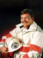 ortrait of Key West Naval Air Station fire rescue Assistant Chief Dale M. McDonald (1998)