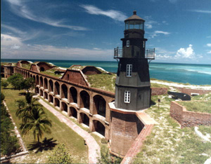 Fort Jefferson lighthouse: Garden Key, Florida (198-)