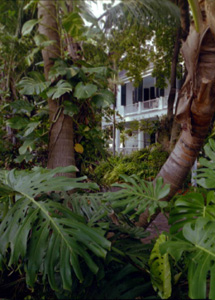 The Audubon House as viewed from Greene Street, Key West, FL (198-)