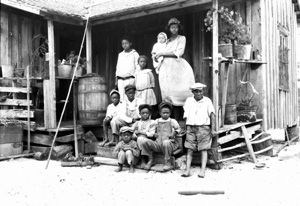 Family from the Everglades (ca. 1929)