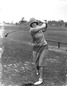 Women's golf champion Maureen Orcutt: Jacksonville, Florida