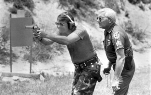 Governor Bob Graham during workday with Orange County Sheriff's Office: Orlando, Florida (1982)