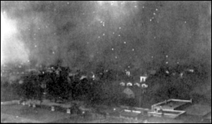 The Fire of 1901, around 2:55 p.m. - Jacksonville, Florida