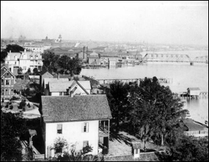 View of Jacksonville harbor (1894)