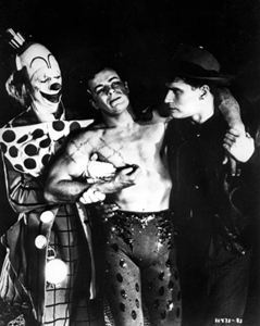 Three male actors from The Greatest Show on Earth (1952)