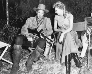 Gary Cooper and Mari Aldon (1951)