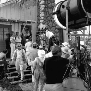 Filming of TV series Gentle Ben: Miami, Florida (1967)