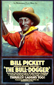 Advertisement for Bill Pickett movie (1921)
