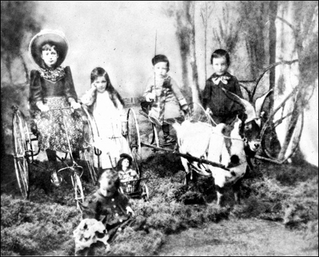 Dekle children with their toys (188-?)