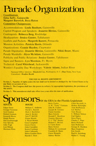 ERA March program, April 14, 1975,
