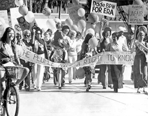 Equal Rights Amendment march
