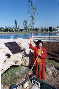 Roxcy Bolton at Women's Park in Miami, 1993