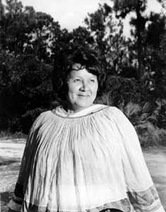 Betty Mae Jumper, chairwoman of the Seminole Indian tribe of Florida (1967)