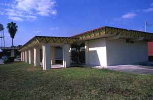 Tribal government offices: Brighton Seminole Indian Reservation, Florida (1989)