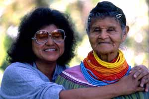 Nancy Billie (left) and Lottie Shore (right): Brighton Seminole Indian (1989)