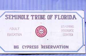 Adult Education Center: Big Cypress Seminole Indian Reservation (1989)