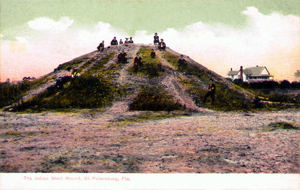 Pre-Columbian shell mound in St. Petersburg, Florida (c. 1900)