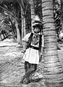 Seminole man (1900s)