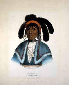Micanopy, a Seminole chief (1836)