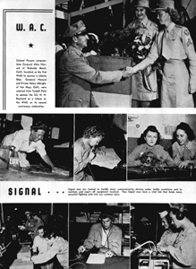 Seven views of WAC and signal corps: Tyndall Field, Florida (1943?)