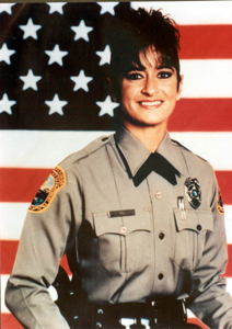 Portrait of Metro-Dade Police Department officer Evelyn Gort (between 1985 and 1993)