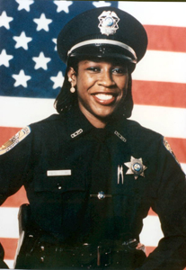 Portrait of North Miami Police Department officer Lynette Anita Hodge (1993)