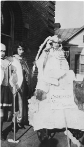 Chanukkah celebration at temple: Pensacola, Florida (ca. 1923)