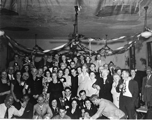 New Year's Eve party at the Sanford Jewish Community Center: Sanford, Florida (1944)