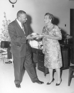 Christmas party at the Afro-American Life Insurance, Jacksonville, Florida (19--)