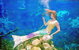 Mermaid at Weeki Wachee (1940s)