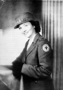 American Red Cross worker Martha N. McLeod (between 1942 and 1945