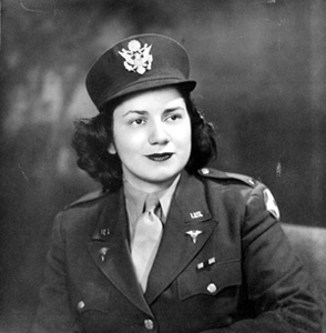 2nd Lt. Sarah Kaplan (1940s)