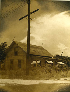 2. …of this house at the foot of Oak Street. Electricity is available but cannot be paid for…