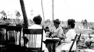 Kobayashi family having Sunday dinner: Yamato, Florida (ca. 1920)