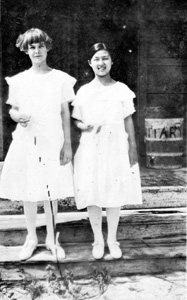 Marjorie Smith and Masa Kamiya: Yamato, Florida (ca. 1921)