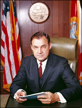 Portrait of Governor Claude Kirk: Tallahassee, Florida (1967)