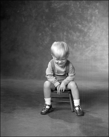 Portrait of 2 ½ year old Greg Hansen: Tallahassee, Florida (July 1967)