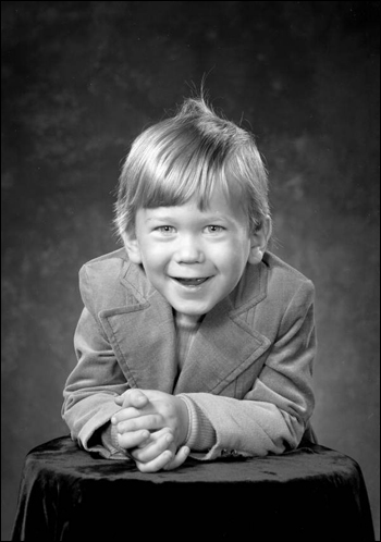 Portrait of 3-year-old Duncan Dashiff: Tallahassee, Florida (1971)