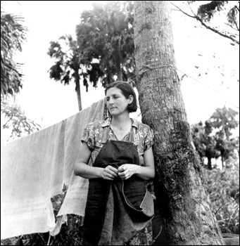 Migrant agricultural worker: Canal Point, Florida (1939)