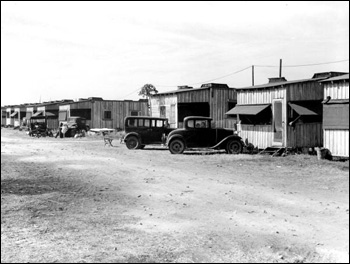 Houses for migrant workers: Belle Glade, Florida (1939)