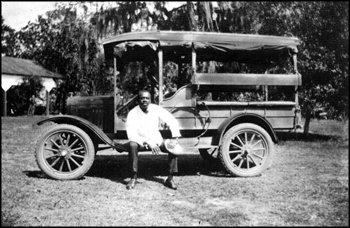 Chauffeur at Live Oak Plantation: Tallahassee, Florida (ca. 1927)