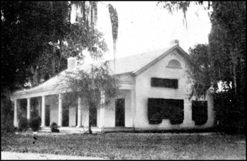 Fleischmann's Welaunee Plantation hunting lodge: Leon County, Florida (ca. 1920)