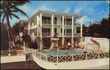 Natchez Plantation House Hotel: Fort Lauderdale, Florida (ca. 1960s)
