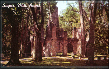 Bulow Plantation Historic Memorial: Flagler County, Florida (ca. 1960s)